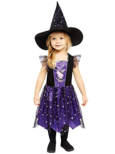 amscan Disfraz de bruja de Peppa Pig de Halloween (2-3 años)