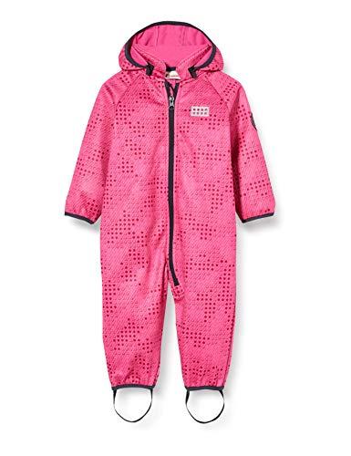 Lego Wear Lwsolar Softshell Einteiler Blouson, Rose (Pink 456), 68 Bébé Fille