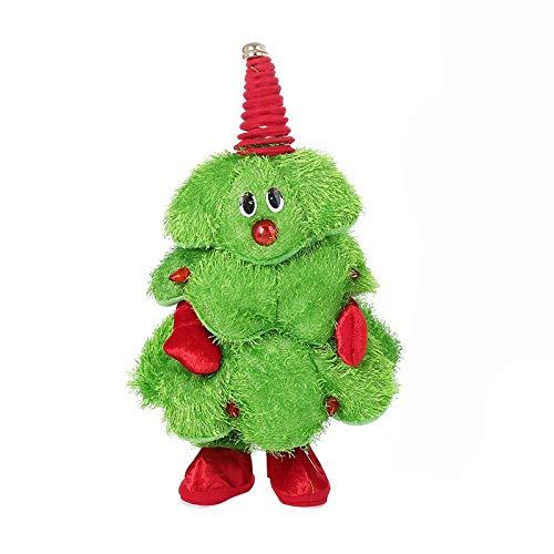 Miwaimao árbol de Navidad Juguetes de Peluche eléctrica