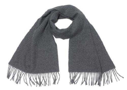 Bufanda Chal Pashmina robó 100% babyalpaca lana, hecho a mano acabado, suave y cálido–Royal Gris