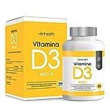 Verihealth - Vitamina D3 4000 UI 100 µg con Aceite de Oliva para...