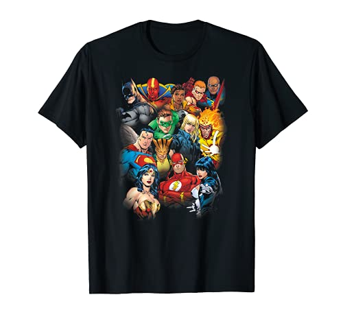 Justice League The Leagues All Here T-Shirt