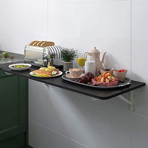 XLAHD Wandtisch, Esstisch Schreibtisch Klapptisch Klapptisch Schwimmender Laptop-Schreibtisch Weiße Dekoration Küchen-Esstisch Kapazität 30 kg