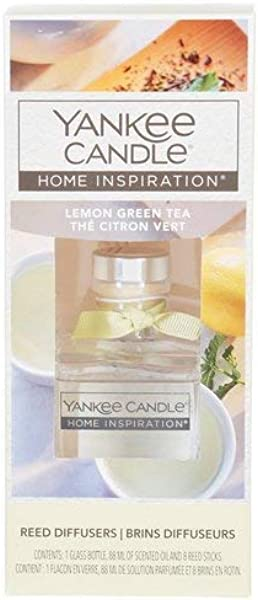 Yankee Candle Home Inspirations Lemon Green Tea Reed Diffuser