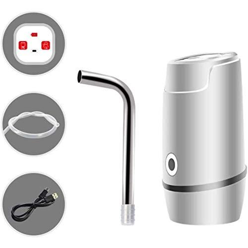 LYYAN Chillers Wasserflasche Pumpe USB Lade Automatische Trinkwasserpumpe Upgrade Intelligente Quantitative Tragbar Elektrische Wasserspender Wasserflasche für Universal Gallone Flasche Brunnen Tap