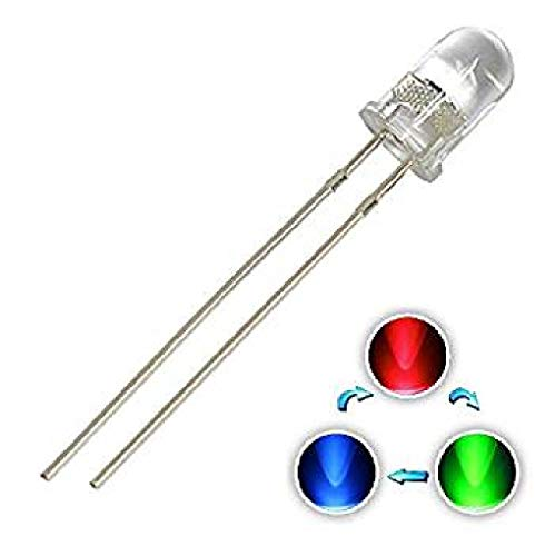 50 Pièces Diodes//DEL//5 mm//Blanc 20000mcd//haut normes de fabrication
