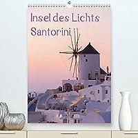 Insel des Lichts - Santorini (Premium, hochwertiger DIN A2 Wandkalender 2022, Kunstdruck in Hochglanz): Diese faszinierende Insel mit ihrem sanften Licht laedt zum Traeumen und Relaxen ein. (Monatskalender, 14 Seiten )