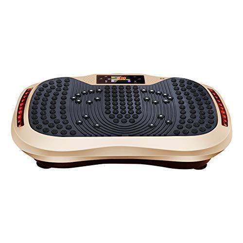 WANGSHI Plataforma Vibratoria de Fitness - Plataforma de Ejercicios de Vibración para Todo El Cuerpo - Equipo de Entrenamiento en El Hogar para Perder Peso y Tonificar