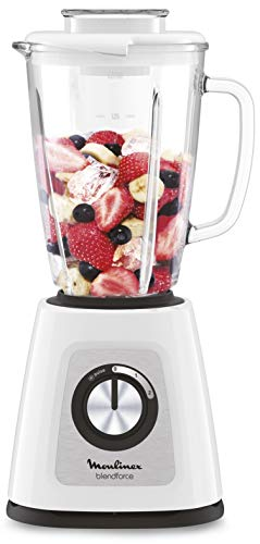 Moulinex LM430110 blender, 800 W, intelligente vergrendeling, koelsysteem, korrel, wit