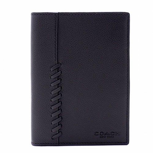 [コーチ] COACH メンズ パスポートケース パスポートカバー 本革 レザー 22538BLK[アウトレット品] [並行輸入品]