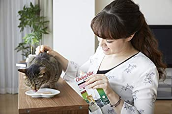INABA Ina0765 Ciao Filet Friandise Thon au Crabe pour Chat
