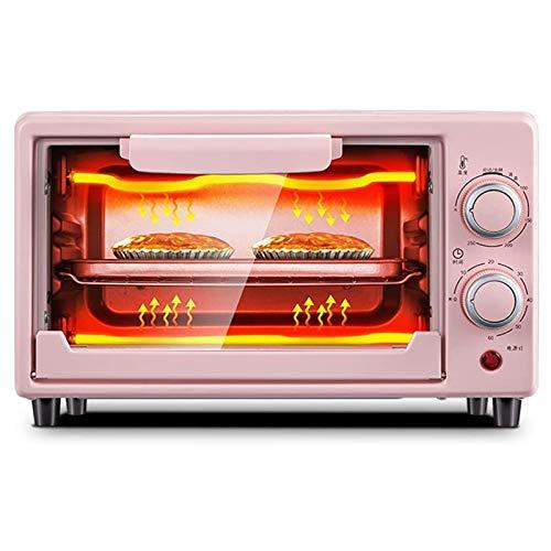 LMDH Mini Horno Home Baking multifunción Completamente automática Horno eléctrico for Hornear la Torta de Pan Tarta con los Accesorios 800W