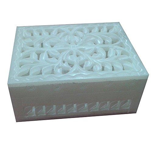 craftslook Marmor Jewelry Tarot-Ring-Box seltene 61