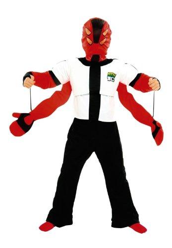 Giochi Preziosi 07839 Costume Ben 10 Due taglia 1 Anni 3 4 Compresi Walkie Talkie