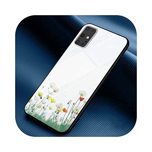 Funda para Samsung Galaxy Note 10 Lite S20Ultra S20 Plus A01 A21 A51 A71 A81 A91 Super Bright Phone Case Style 06-Para Samsung A81