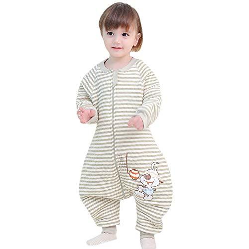 Pasen Slaapzak Baby Het hele jaar Meisje Jongen Katoen Met Mouwen Eenvoudige Stijl .Kinderen Winter pyjama. Unisex Pajama Jumpsuit Rompers Mouse.90 110Cm 2.0 Tog. (Groen 6 18 Maanden)