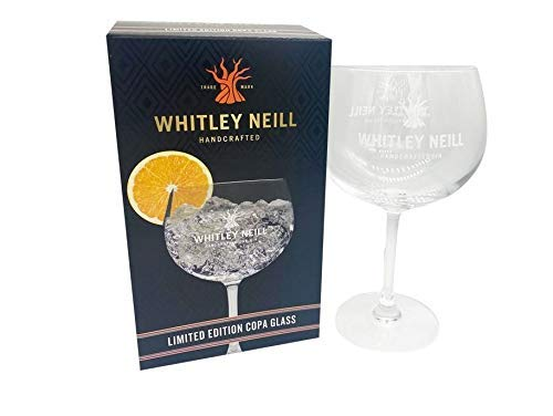 Whitley Neill Limited Edition Copa Glas Gin Geschenk