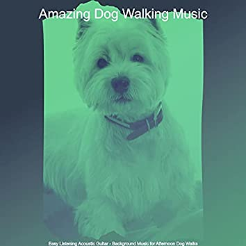 Easy Listening Acoustic Guitar - Background Music for Afternoon Dog Walks