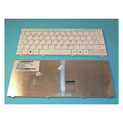 IFINGER Teclado Nuevo Acer Aspire One 751 752 1410 1810TZ 1810Z Blanco...