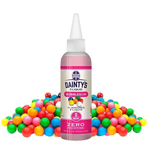 Daintys - Bubblegum - Eco Vape E-Liquid   80ml   Sans Nicotine NI TABAC   50VG/50PG   E-Liquide pour Cigarettes Electroniques   E Vaper Liquids   E Cigarette   E Shisha
