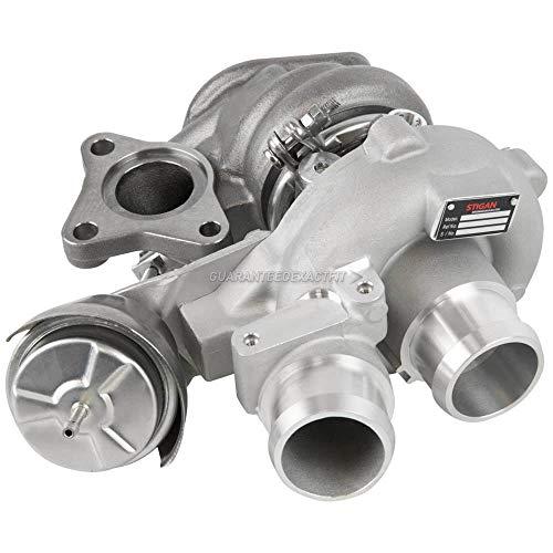 Stigan Right Passenger Side Turbo Turbocharger w/Billet Wheel For Ford F150 Expedition Transit Lincoln Navigator 3.5 V6 - Stigan 847-1538 New