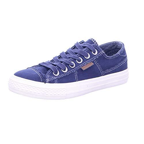 Dockers by Gerli - Zapatillas Deportivas para Mujer, Color Azul, Talla 36 EU
