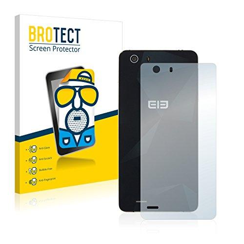BROTECT 2X Entspiegelungs-Schutzfolie kompatibel mit Elephone S2 Plus (Rückseite) Bildschirmschutz-Folie Matt, Anti-Reflex, Anti-Fingerprint