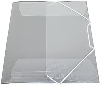 by EXXO HFP 10 offerta//Portafoglio intarsio A4 con porta biglietti da visita sulla parte anteriore trasparente verde