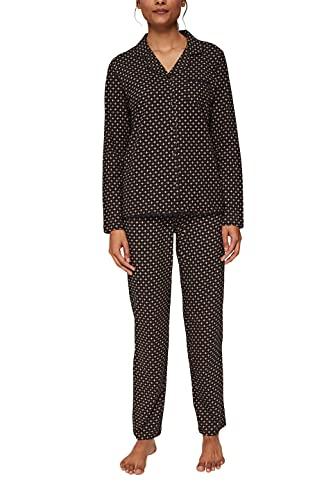 ESPRIT Bodywear Damen GLENICE 2 NW COO Pyjama lslv_lg Pyjamaset, 003, 38