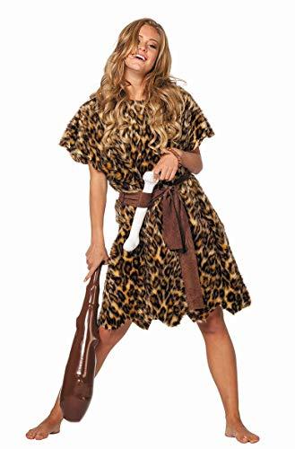 Wilbers PARTY DISCOUNT ® Damen-Kostüm Höhlenbewohnerin, 2 tlg, Gr. 42