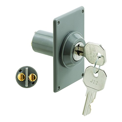 Prime-Line Products GD 52142 Electric Key Switch, 3/4 in. Outside Diameter, Hardwired