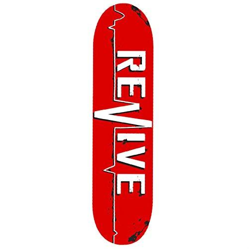 Revive Skateboards Red Lifeline Deck 8.125