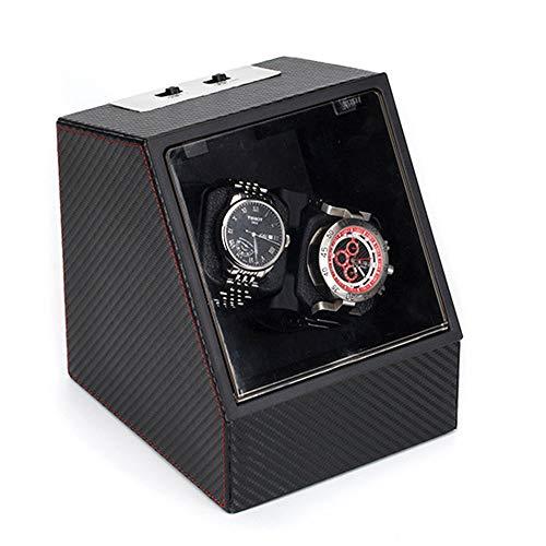 Kays Uhrenbeweger Uhrenbox Uhrenkasten Uhrendreher Dual Watch Winder Automatic (Design : A)