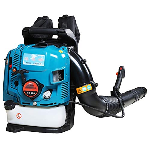ZWYSL 4-Cycle Gasoline Blower, Engine Gas Powered Leaf Blower for Lawn Care Cordless Variable Speed Backpack Leaf Blower