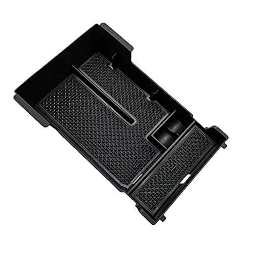 Reunion Caja de Almacenamiento Organizador Ajuste para Mazda 3 Axel 2019 2020 Coche de plástico Negro Contenedor Interior