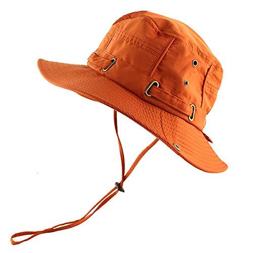 Bucket Hat Beach Cap Bucket Hat Men Women Hat Summer Uv Protection Hiking Tactical Outdoor Sun Hat Fishing-Og