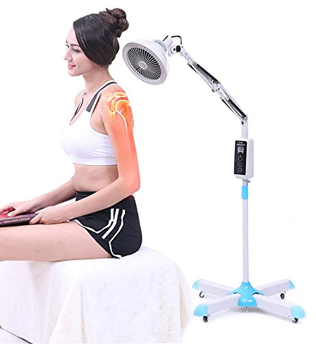 QHealth 300 W TDP Brede hittelamp, minerale fysiotherapie, elektromagnetisch licht, aanraken, beeldscherm, instelbare temperatuur voor therapie, acupunctuur, pijn