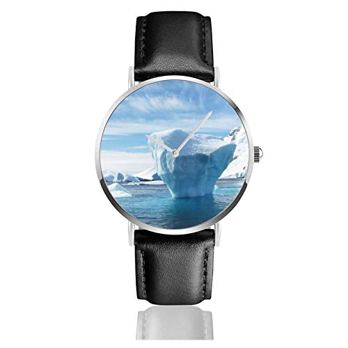 Iceberg Men Wrist Watches Genuine Leather For Gents Teenagers Boys