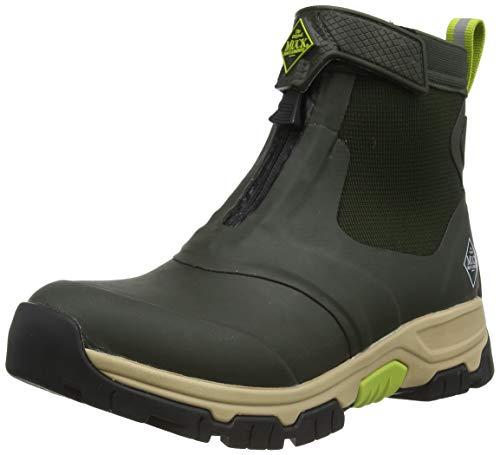 The Original Muck Boot Company, Men's Apex Mid Zip, Size 11, Moss/Tan
