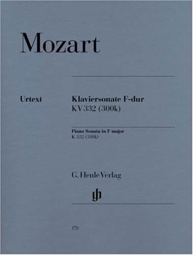 Klaviersonate F-dur KV 332 (300k)