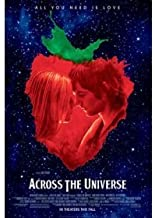 Across the Universe Double Sided Original Movie poster 27x40