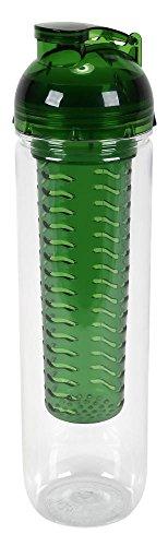 culinario Trinkflasche Flavour, BPA-frei, 800 ml Inhalt, grün
