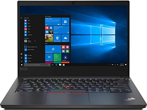 Lenovo ThinkPad E14 Intel Core i5 10th Gen 14-inch Full HD Thin and Light Laptop (8GB RAM/ 1TB HDD + 128GB SSD/ Windows 10 Home/ Microsoft Office Home & Student 2019/ Black/ 1.69 kg), 20RAS0KY00