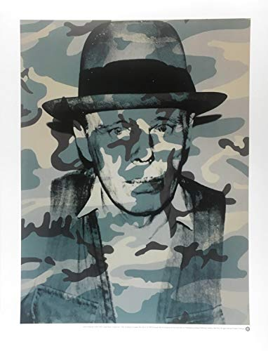 Germanposters Andy Warhol Joseph Beuys Poster Kunstdruck 80x60cm