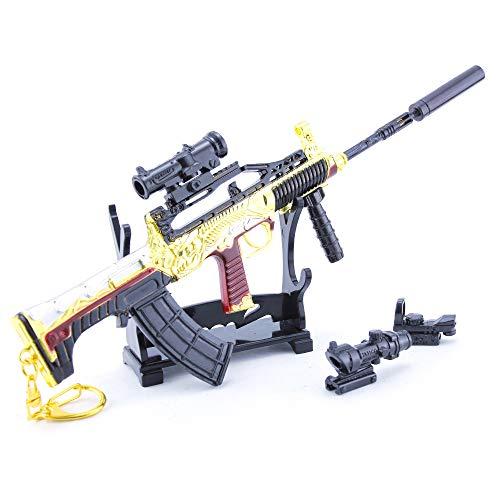 Legend Series 95 - Llavero para rifle (escala 1/4), diseño de mochila de regalo, suministros para fiestas, decoración de escritorio (A)