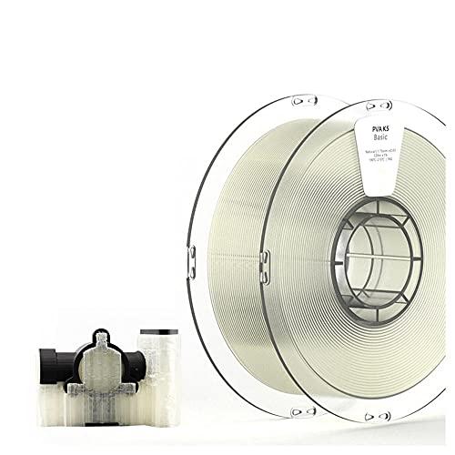 3D Stampante filament 1.75mm PVA K5 materiale supporto solubile materiale 0,5 kg bobina