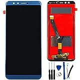 SOMEFUN Display di Ricambio Compatibile con Huawei Honor 9 Lite 5.65' LLD-L31 LLD-L21 LLD-L11 LCD Schermo Touch Screen Digitizer Assemblea【Blu Senza Cornice】