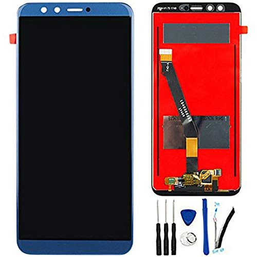 SOMEFUN Display di Ricambio per Huawei Honor 9 Lite LLD-L31 LLD-L21 LLD-L11 5.65' LCD Schermo Touch Screen Digitizer Assemblea (Blu)