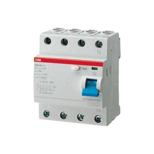 ABB 2CSF204101R2400 - Stromunterbrecher (Residual-current device, Mehrfarbig, Metall, Kunststoff, 360 g)