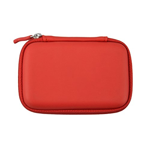 Incidence Paris 55219 Boite INZEPOCKET - in Case of Emergency Synthétique, Rouge, 11x7x3 cm